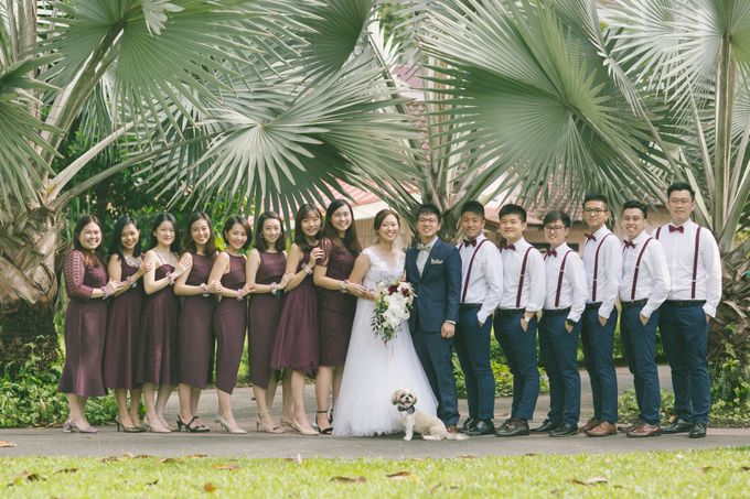 Wedding Day - Samuel and Hazel by TangYong Hair & Makeup - 019