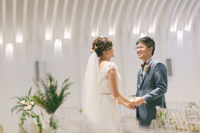 Wedding Day at The Chapel at Imaginarium by TangYong Hair & Makeup - 010