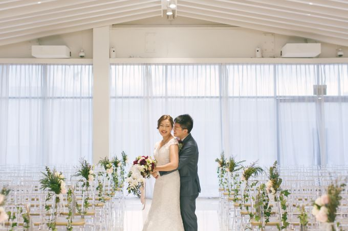 Wedding Day at The Chapel at Imaginarium by TangYong Hair & Makeup - 012
