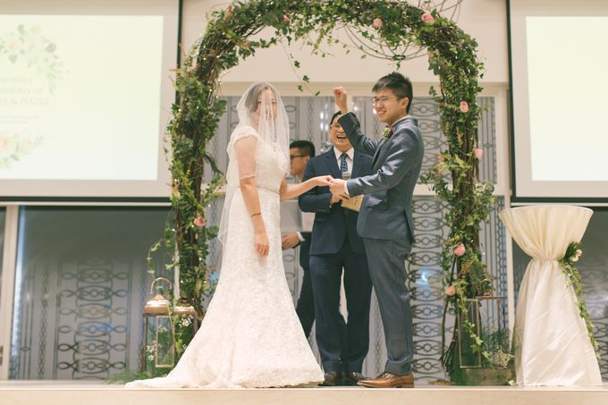 Wedding Day at The Chapel at Imaginarium by TangYong Hair & Makeup - 037