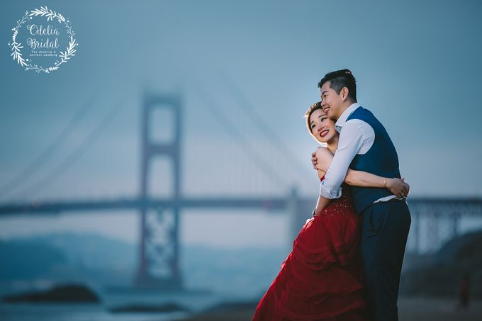 San Francisco pre wedding photography by Odelia Bridal - 015