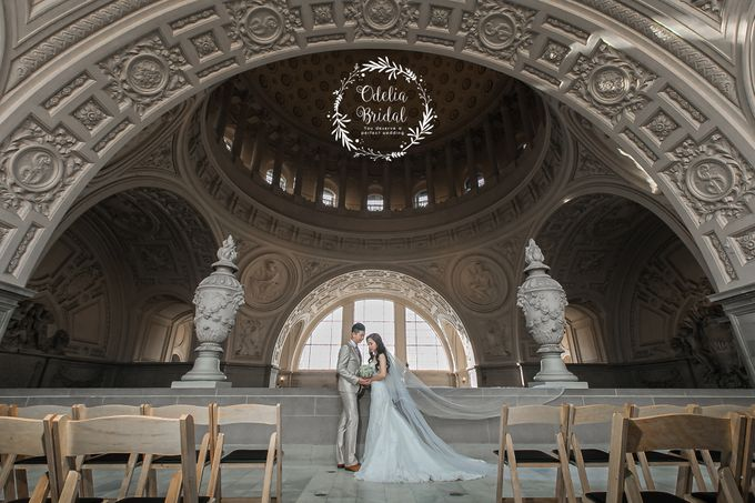 San Francisco pre wedding photography by Odelia Bridal - 002