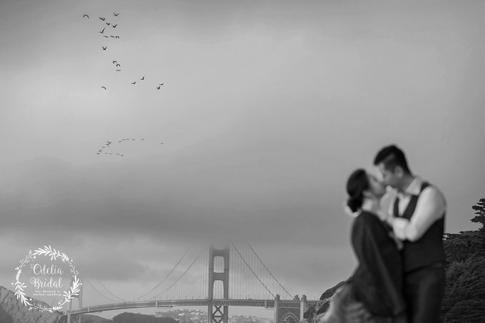San Francisco pre wedding photography by Odelia Bridal - 018