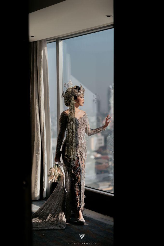 The Wedding of Sanchia & Indra by Sheraton Grand Jakarta Gandaria City Hotel - 011