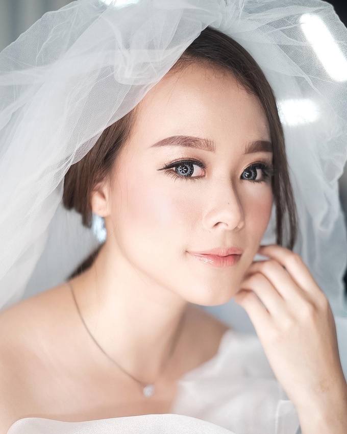 Makeup for ms sanny by Sandra Bridal and Makeup Academy - 001