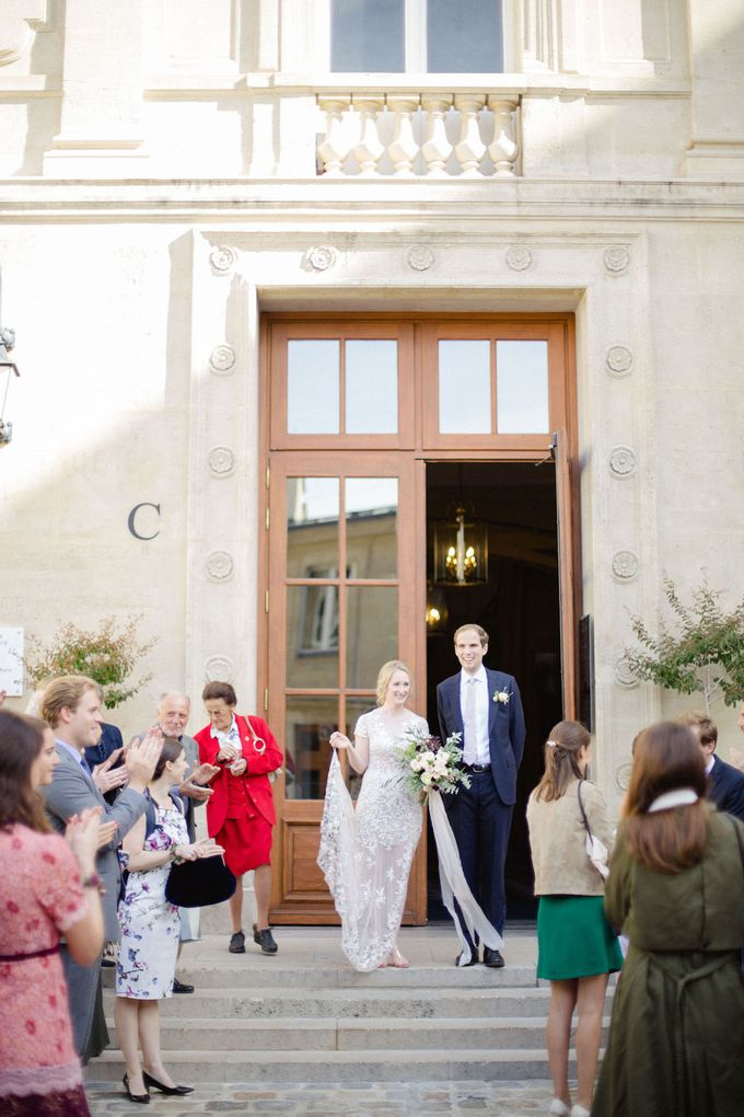Unconventional wedding party in Paris by Sandra Åberg Photography - 009