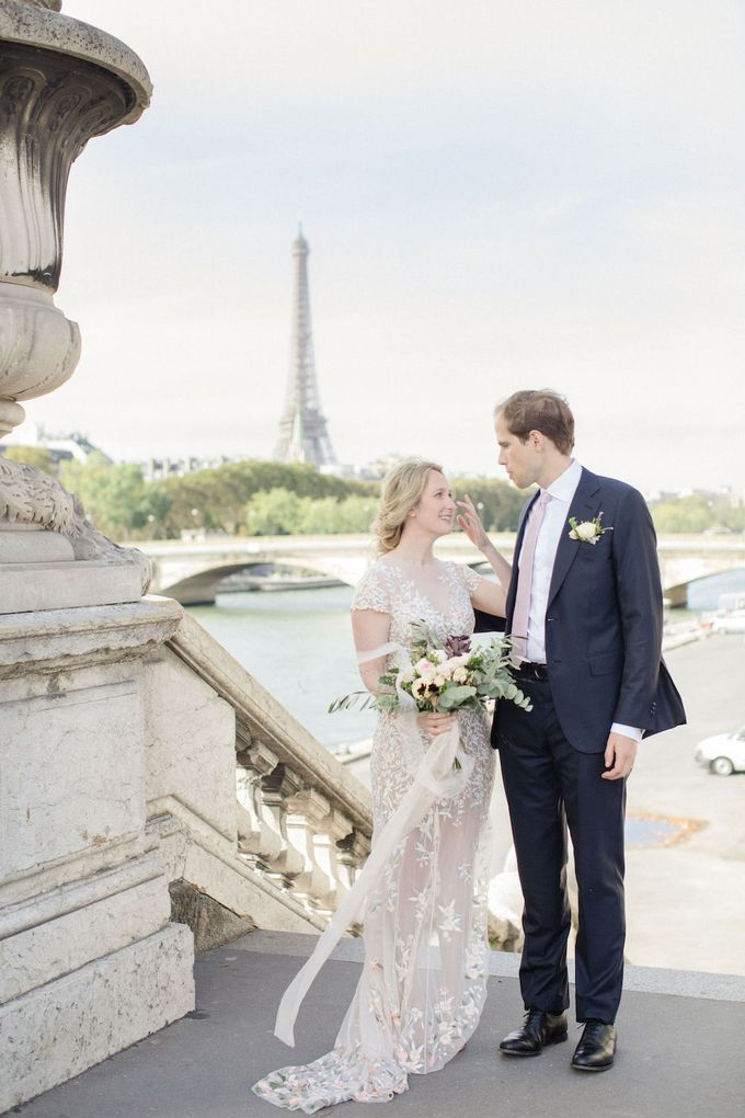 Unconventional wedding party in Paris by Sandra Åberg Photography - 020