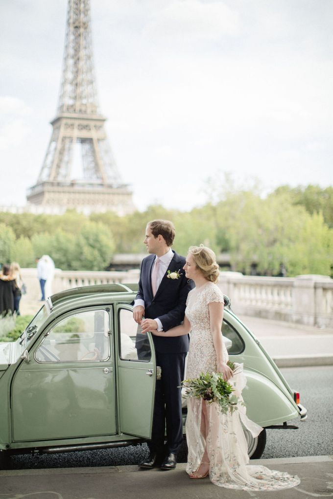 Unconventional wedding party in Paris by Xenia Motif Creative Studio - 023