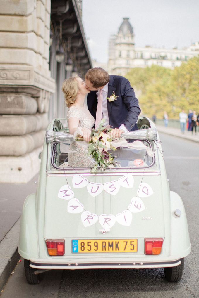 Unconventional wedding party in Paris by Xenia Motif Creative Studio - 025