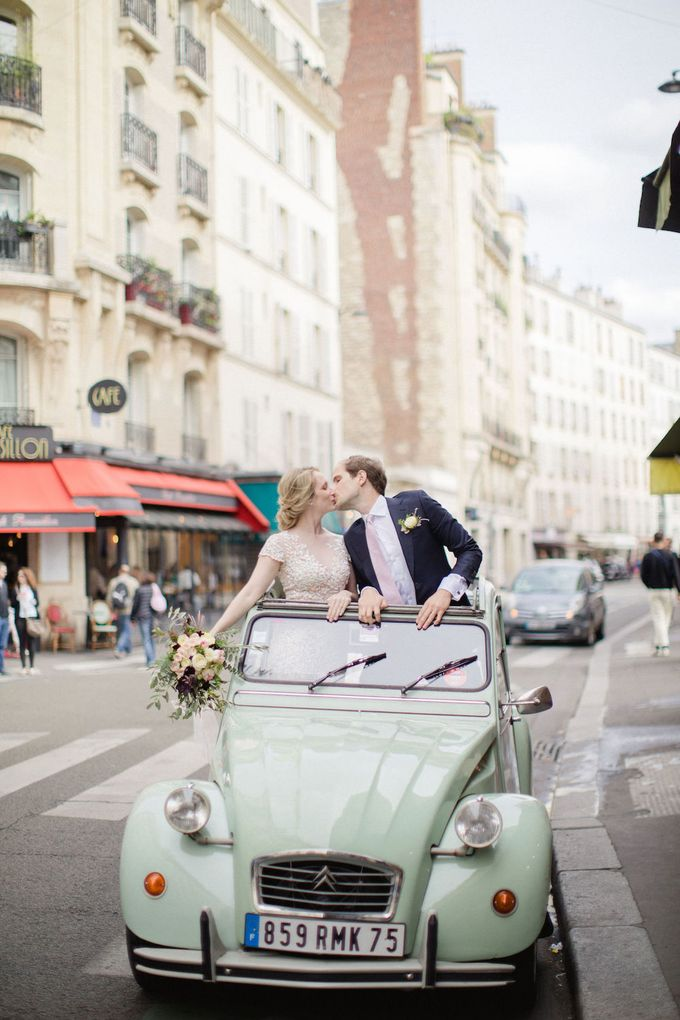 Unconventional wedding party in Paris by Xenia Motif Creative Studio - 026
