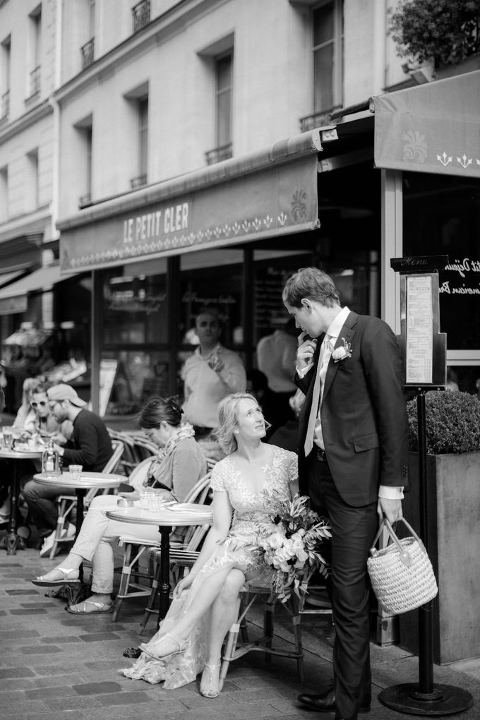 Unconventional wedding party in Paris by Sandra Åberg Photography - 027
