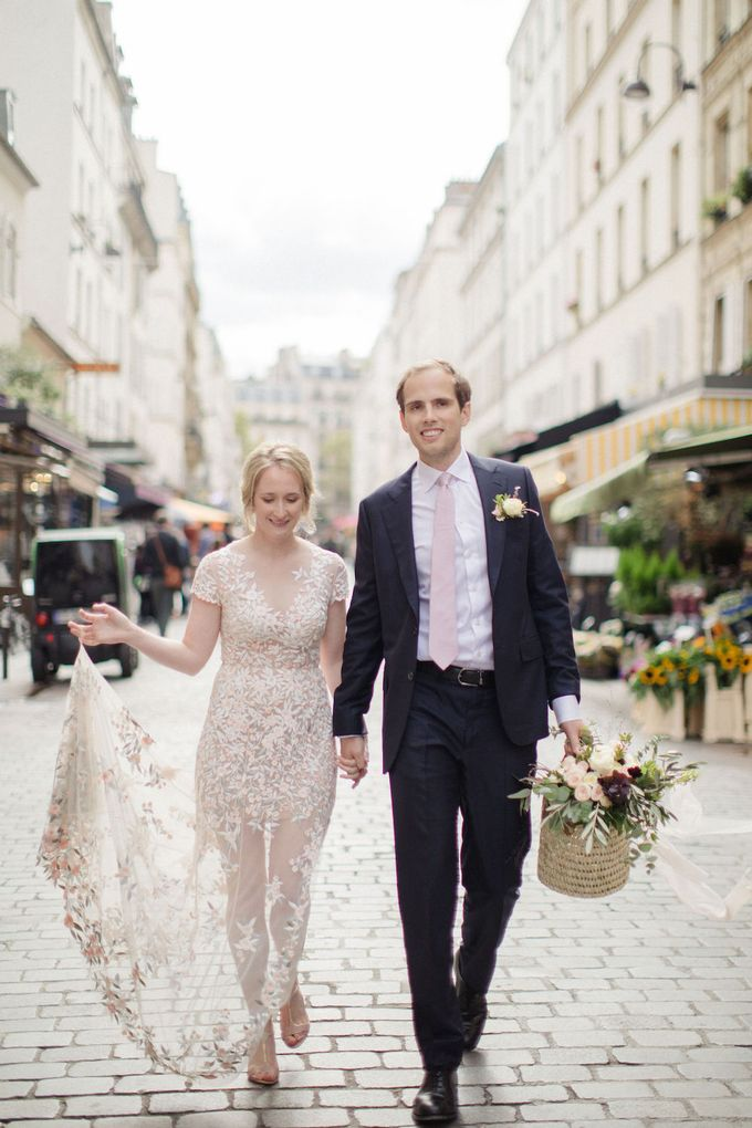 Unconventional wedding party in Paris by Sandra Åberg Photography - 028