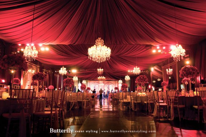 Sangeet Decoration by Butterfly Event Styling - 001
