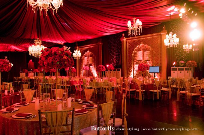 Sangeet Decoration by Butterfly Event Styling - 003