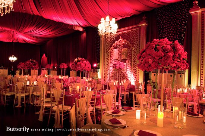 Sangeet Decoration by Butterfly Event Styling - 002