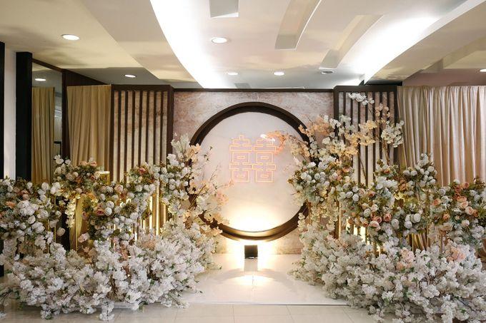 Edward & Ria Engagement Decoration by Valentine Wedding Decoration - 001