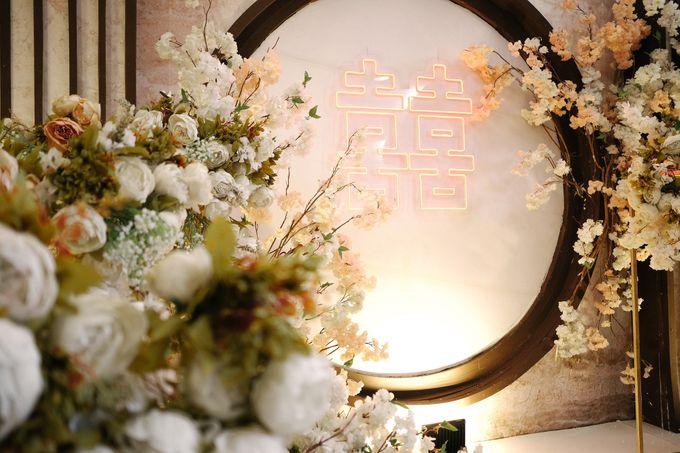 Edward & Ria Engagement Decoration by Valentine Wedding Decoration - 011