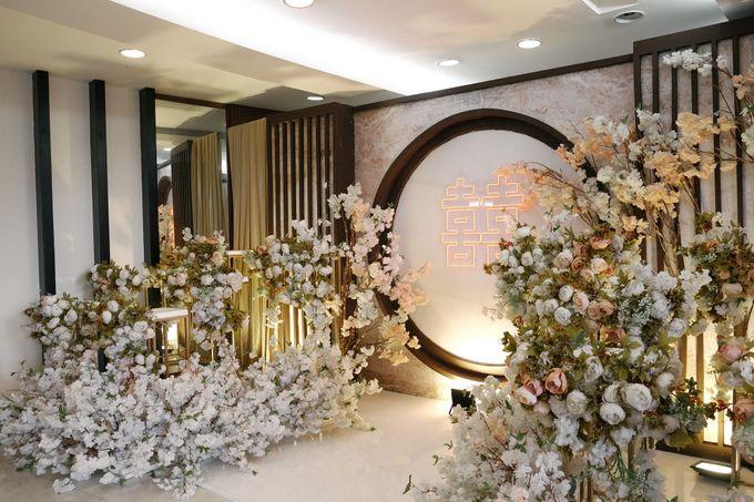 Edward & Ria Engagement Decoration by Valentine Wedding Decoration - 002