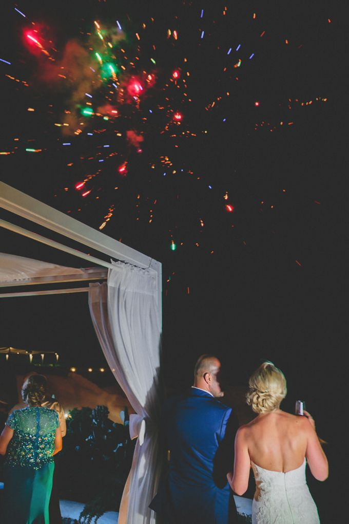 Romantic elegant wedding in Santorini by MarrymeinGreece - 012