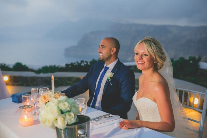 An elegant off white and peach wedding by MarrymeinGreece - 009