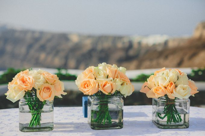 An elegant off white and peach wedding by MarrymeinGreece - 011