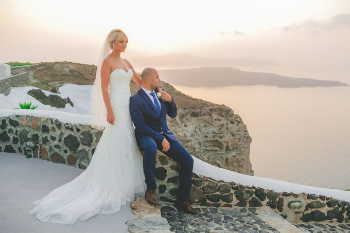 An elegant off white and peach wedding by MarrymeinGreece - 015