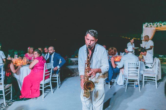 Romantic elegant wedding in Santorini by MarrymeinGreece - 011