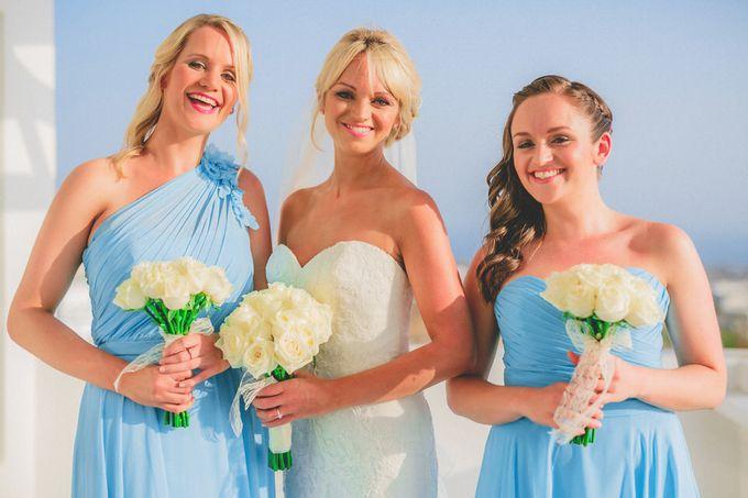 Romantic elegant wedding in Santorini by MarrymeinGreece - 005