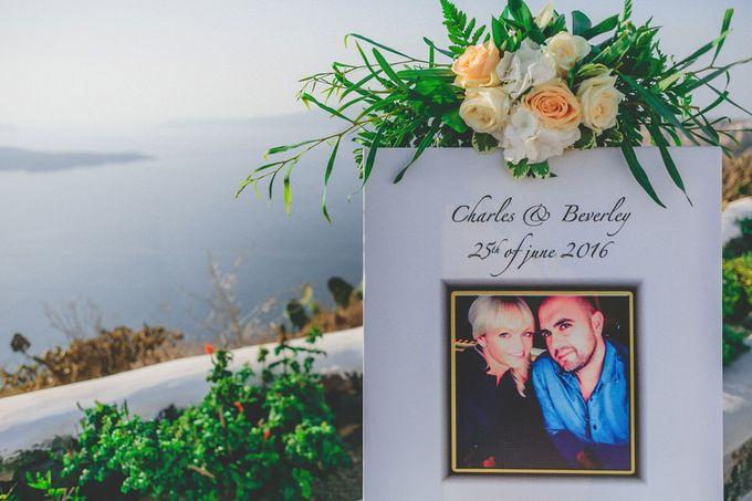 Romantic elegant wedding in Santorini by MarrymeinGreece - 006