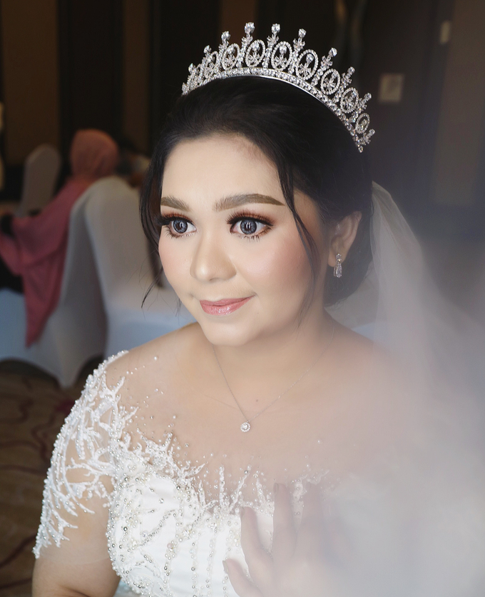 The Wedding of Agnes by SARA ROSE Makeup Artist - 003