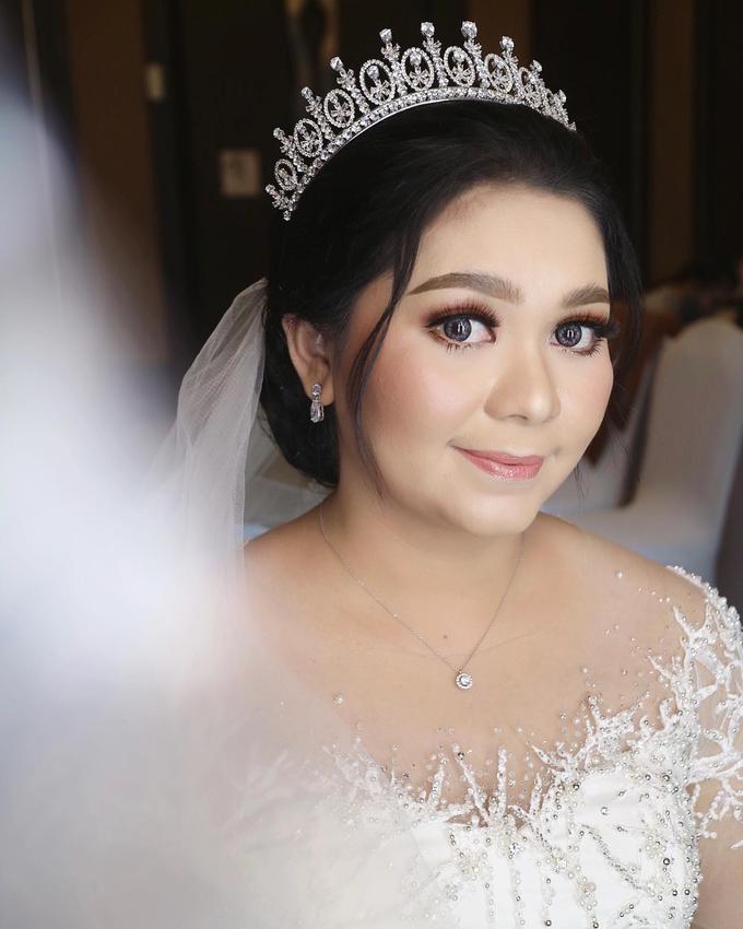 The Wedding of Agnes by SARA ROSE Makeup Artist - 001