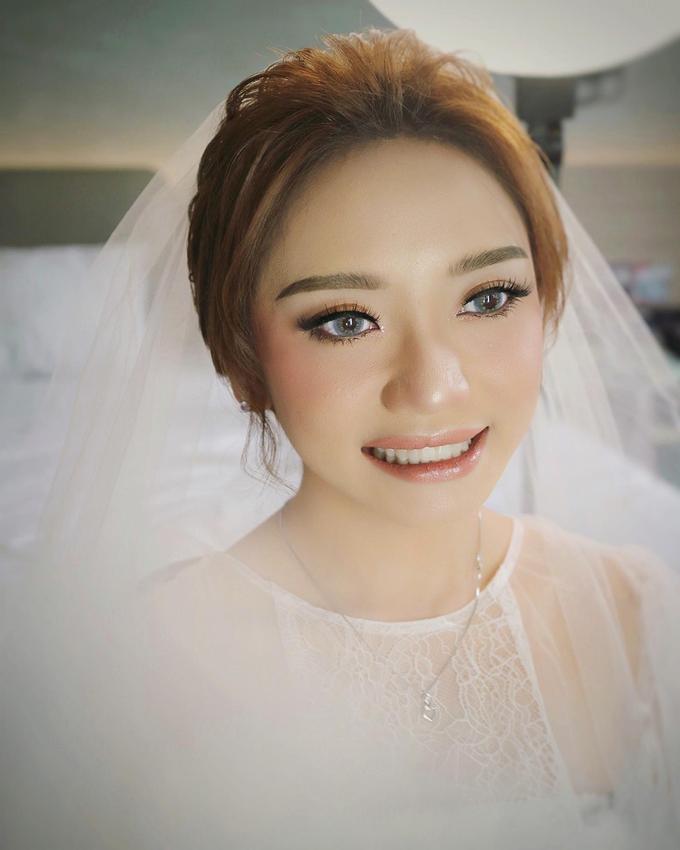 The Wedding of Sonya & Albert by SARA ROSE Makeup Artist - 004