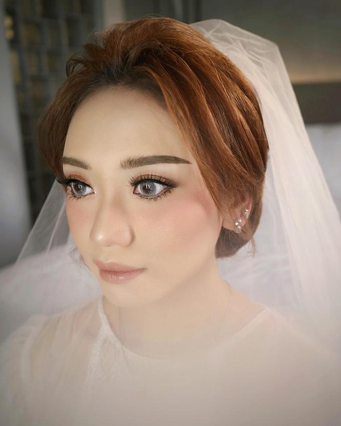 The Wedding of Sonya & Albert by SARA ROSE Makeup Artist - 008