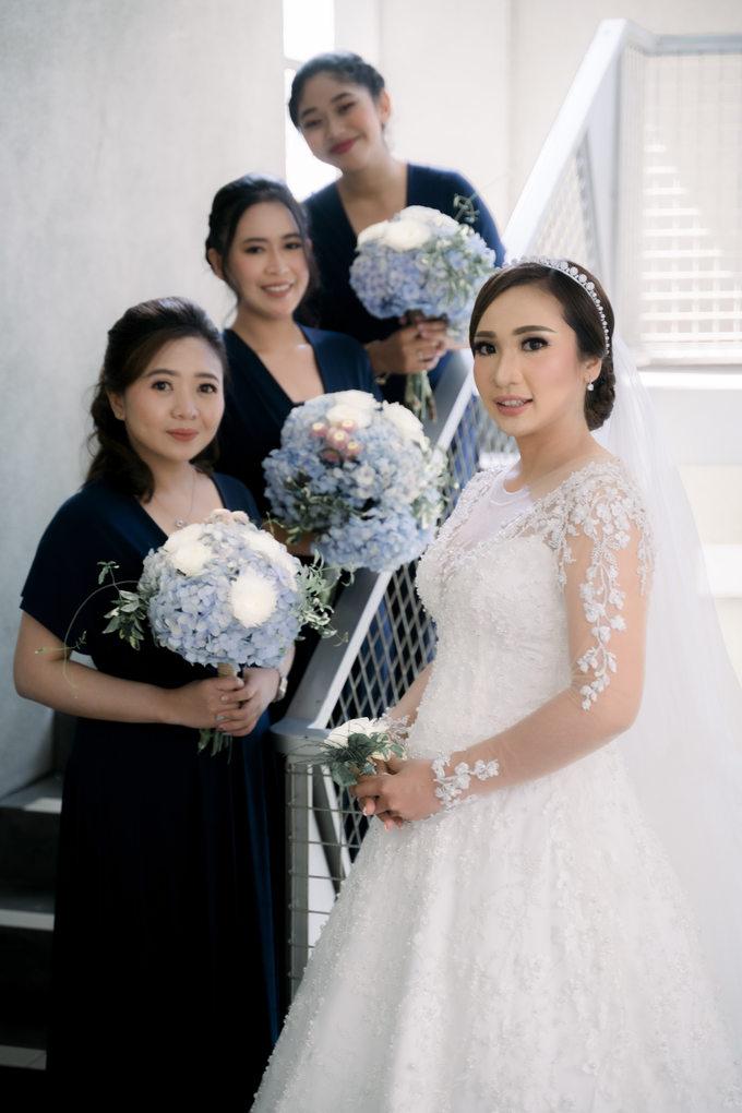 The Wedding of Clara & Willy by SARA ROSE Makeup Artist - 003