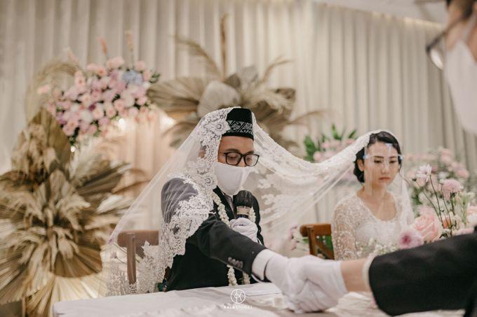 Sarah & Dimas Intimate Wedding by newlyweds.wo - 001