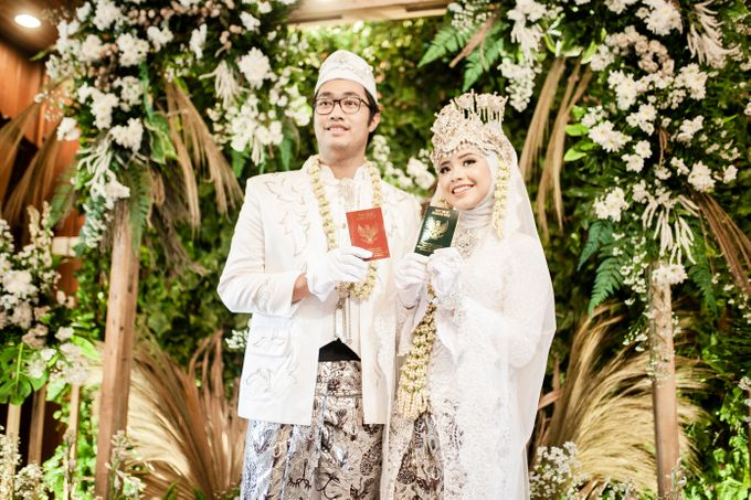 Intimate Wedding Sarah & Deo by Cateringky - 004