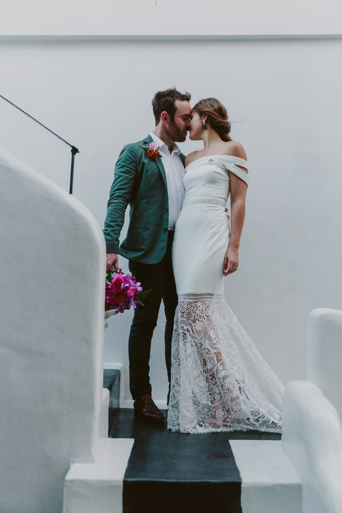 Sarah & Lachlan 2017 Wedding by Bali Event Hire - 005