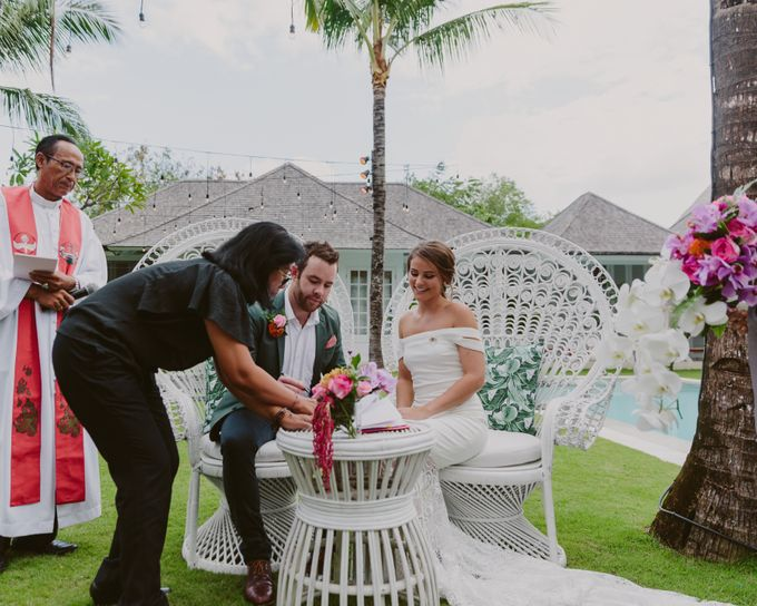 Sarah & Lachlan 2017 Wedding by Bali Event Hire - 006