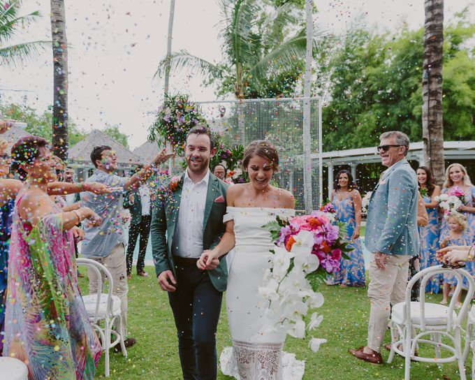 Sarah & Lachlan 2017 Wedding by Bali Event Hire - 004
