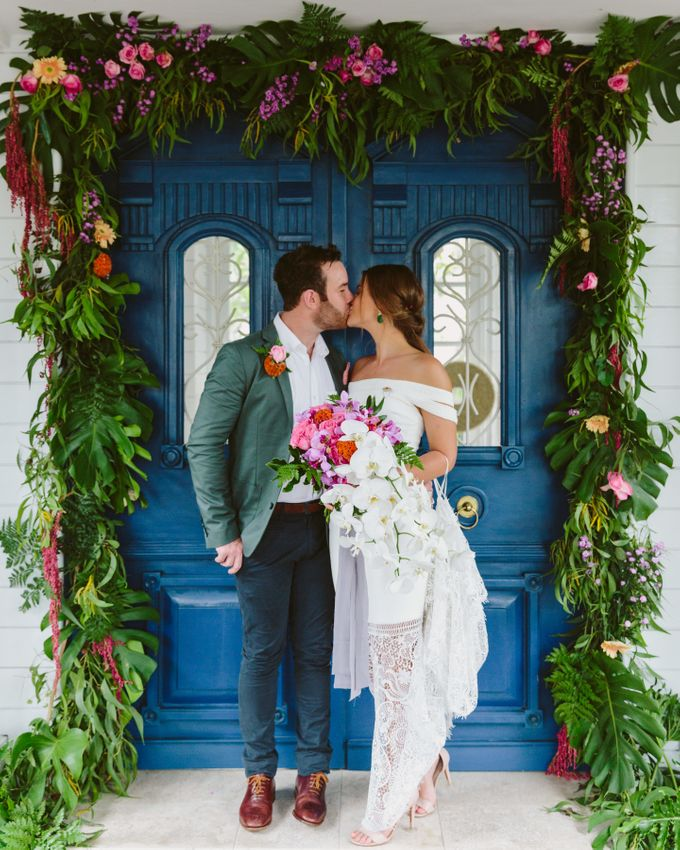 Sarah & Lachlan 2017 Wedding by Bali Event Hire - 001