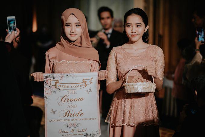 The Reception Of Saras & Sabil by Armadani Organizer - 015