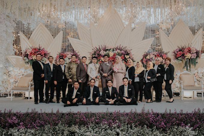 The Reception Of Saras & Sabil by Armadani Organizer - 013