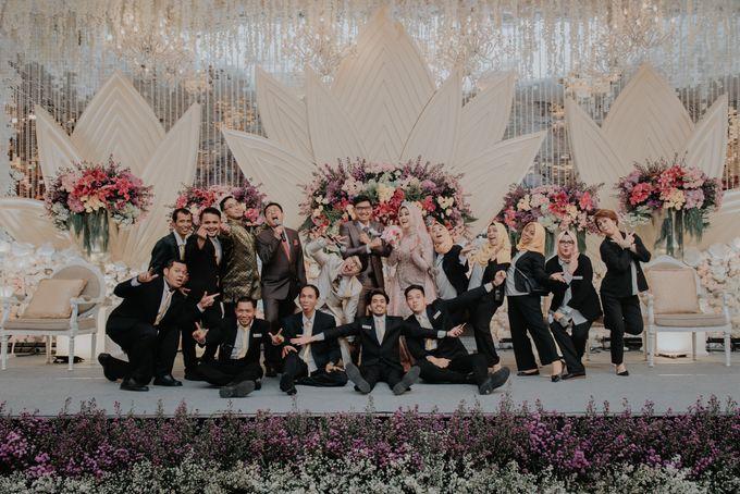 The Reception Of Saras & Sabil by Armadani Organizer - 010