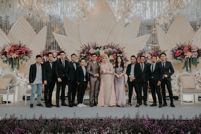The Reception Of Saras & Sabil by Armadani Organizer - 016