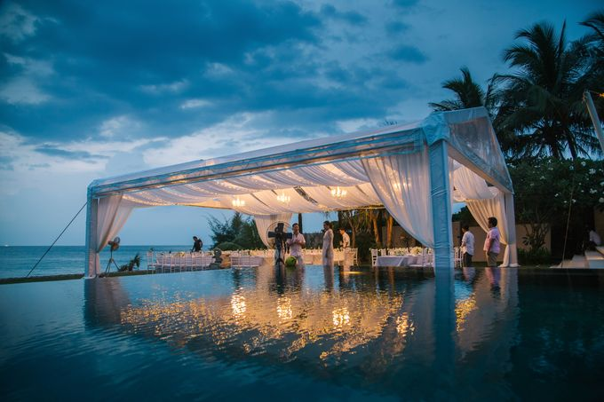 Zen & Tim wedding at Sava beach villas Natai beach by BLISS Events & Weddings Thailand - 014