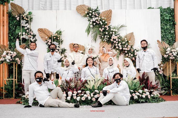 The Wedding Of Syafika & Gusnio by Armadani Organizer - 010