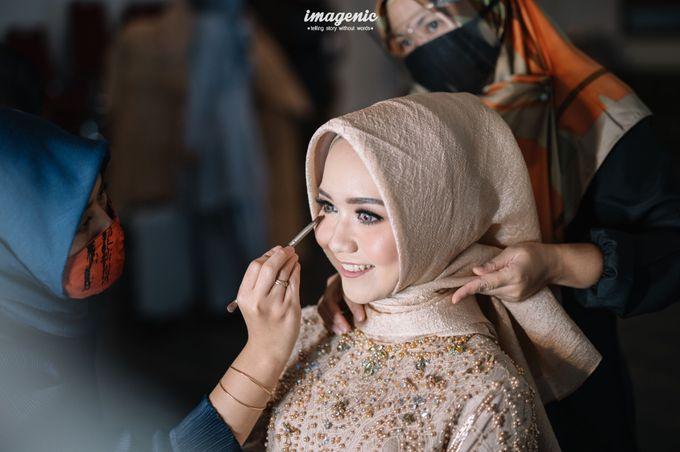 The Intimate Wedding Of Rizka & Farid by Armadani Organizer - 008