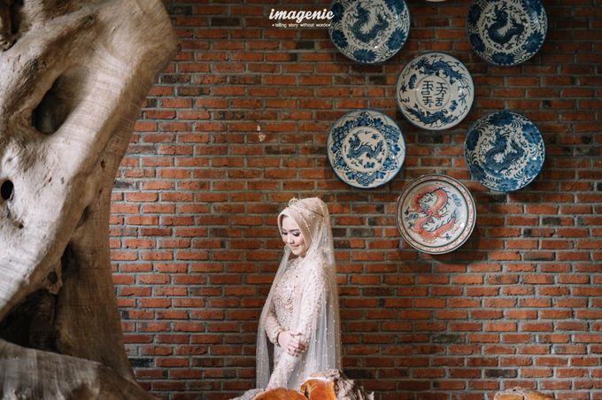 The Intimate Wedding Of Rizka & Farid by Armadani Organizer - 013