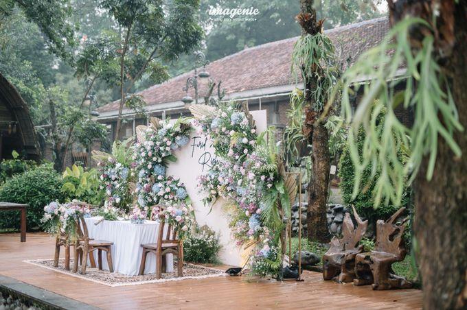 The Intimate Wedding Of Rizka & Farid by Armadani Organizer - 021