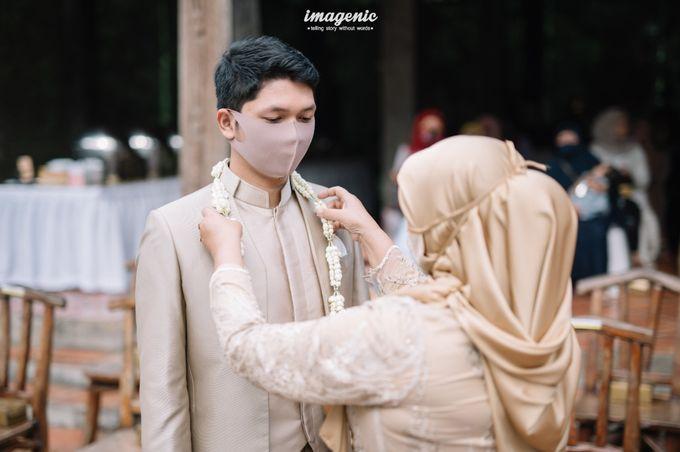 The Intimate Wedding Of Rizka & Farid by Armadani Organizer - 002